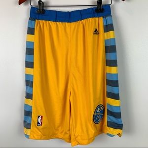 Adidas Small NBA Colorado Denver Nuggets Shorts